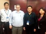 我公司派技术人员赴江西参加《猪场巡回培训会》