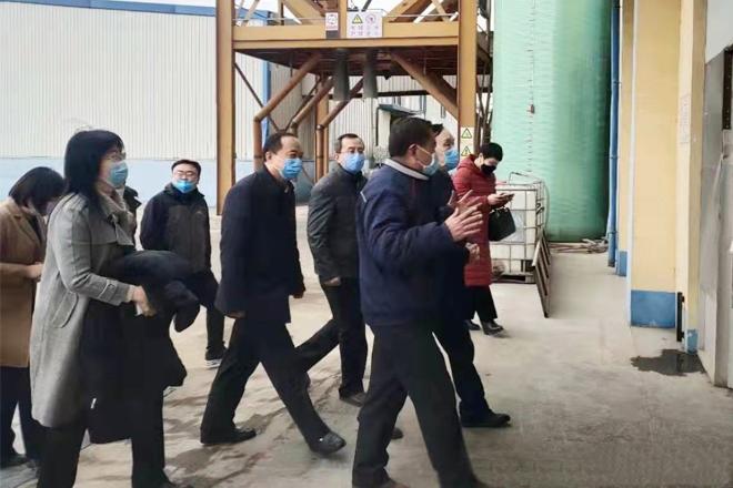 烟台市市委副书记吴承丙到蓬莱天源走访调研