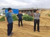 市农业农村局领导视察天源农牧项目建设情况